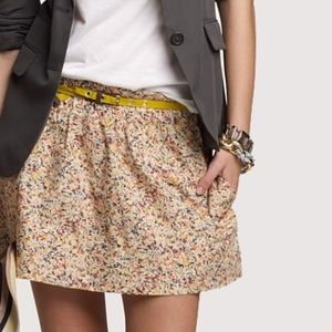 J.Crew Daisy Day Floral skirt size 2